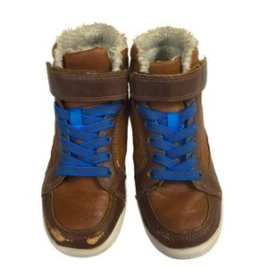 H&M Boys Brown Size 12 Sneakers